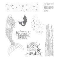 Magical Mermaid Cling-Mount Stamp Set