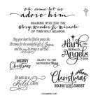 For Unto Us Cling Stamp Set