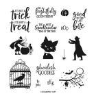 Ghoulish Goodies Cling Stamp Set