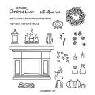 Fireside Trimmings Photopolymer Stamp Set