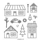 Coming Home Photopolymer Stamp Set