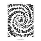 Spiral Dye Cling Stamp Set