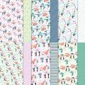 """Penguin Playmates 12"""" X 12"""" (30.5 X 30.5 Cm) Designer Series Paper"""