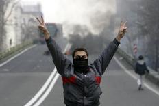 Από τη σημερινή διαδήλωση στην Τεχεράνη