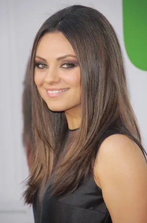 Mila Kuniss Ted Premiere Hairstyle Celebrity Beauty