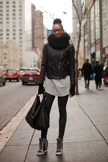 College Street Style In Chicago Best Campus Fashion