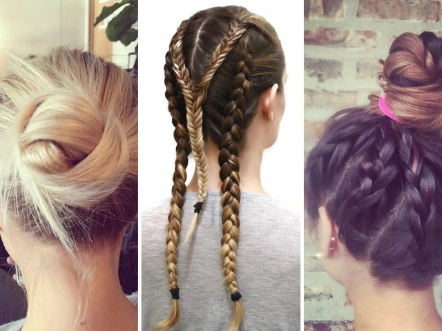 best workout hairstyles - hair tips for the gym | teen vogue