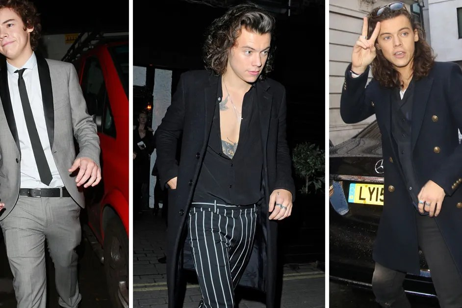 Harry Styles Fashion Evolution Photos Of Harry Styles