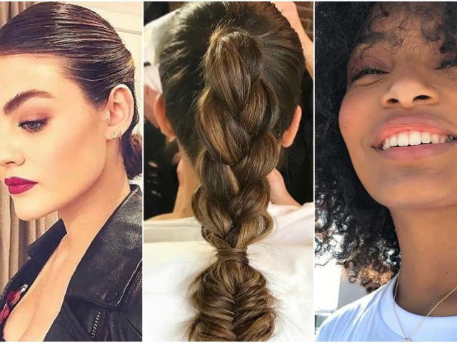the best graduation hairstyles that won't give you cap hair | teen