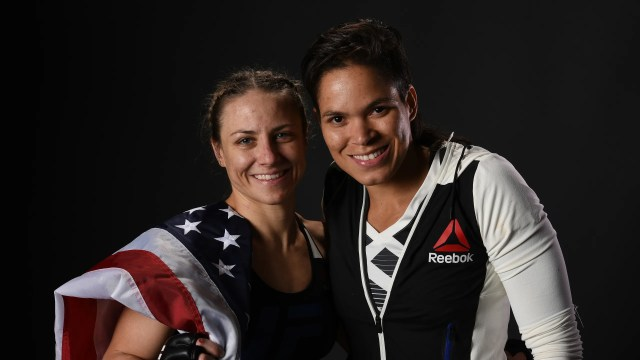 UFC Fighters Amanda Nunes and Nina Ansaroff on Women's MMA and Being a  Power Couple | Teen Vogue
