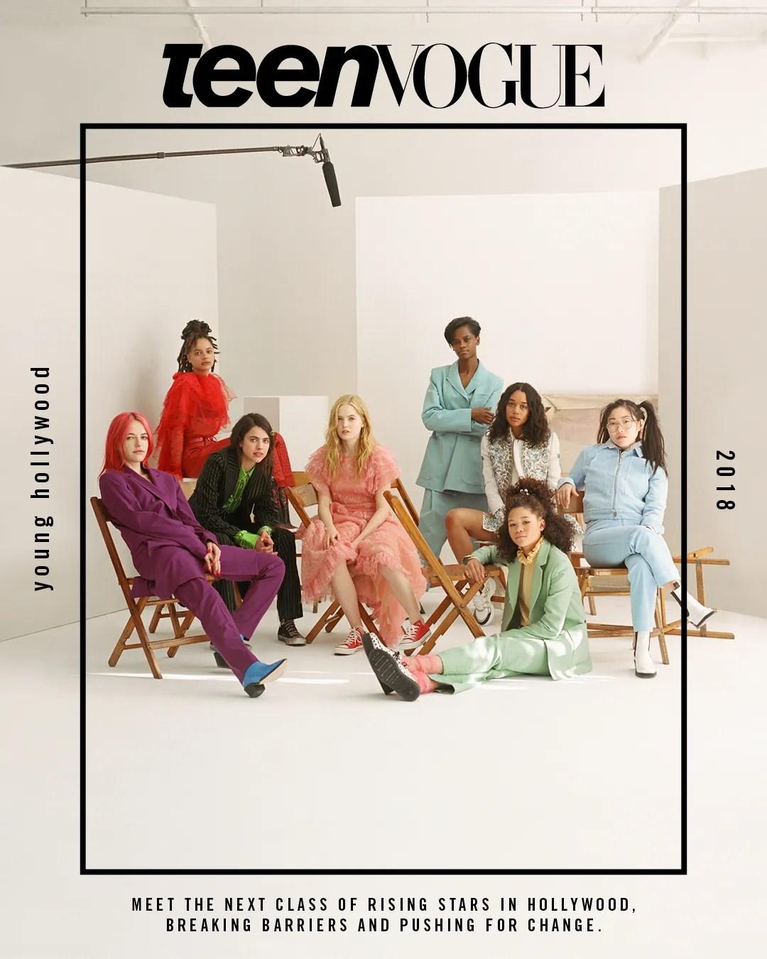 Meet Teen Vogue's Young Hollywood Class of 2018   Teen Vogue