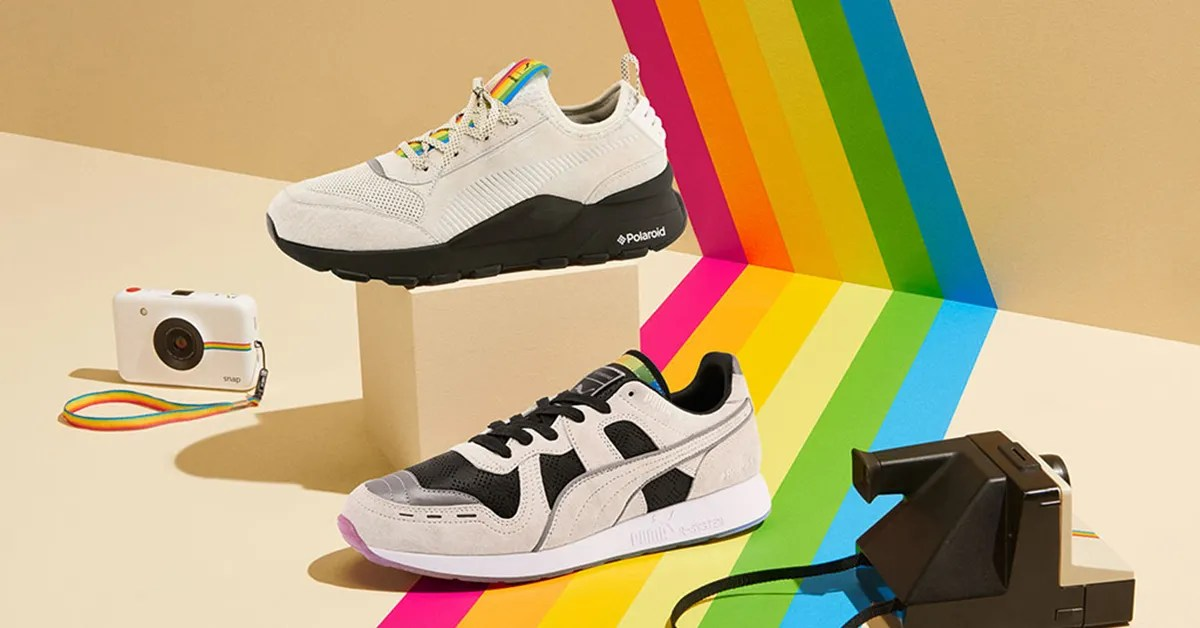 Puma x Polaroid Sneakers Are Here   New Designers