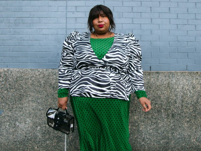 best fat at fashion week style from new york fashion week
