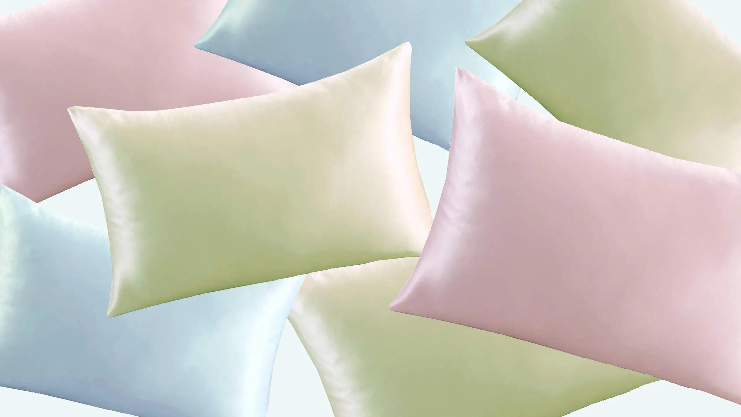 best silk pillowcases for hair skin