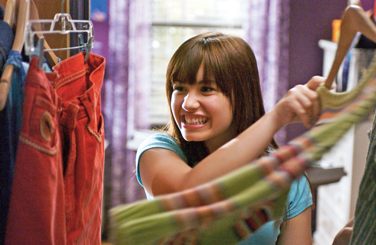 Demi Lovato played an aspiring singer in the television film Camp Rock, from 2008, about a summer music camp.