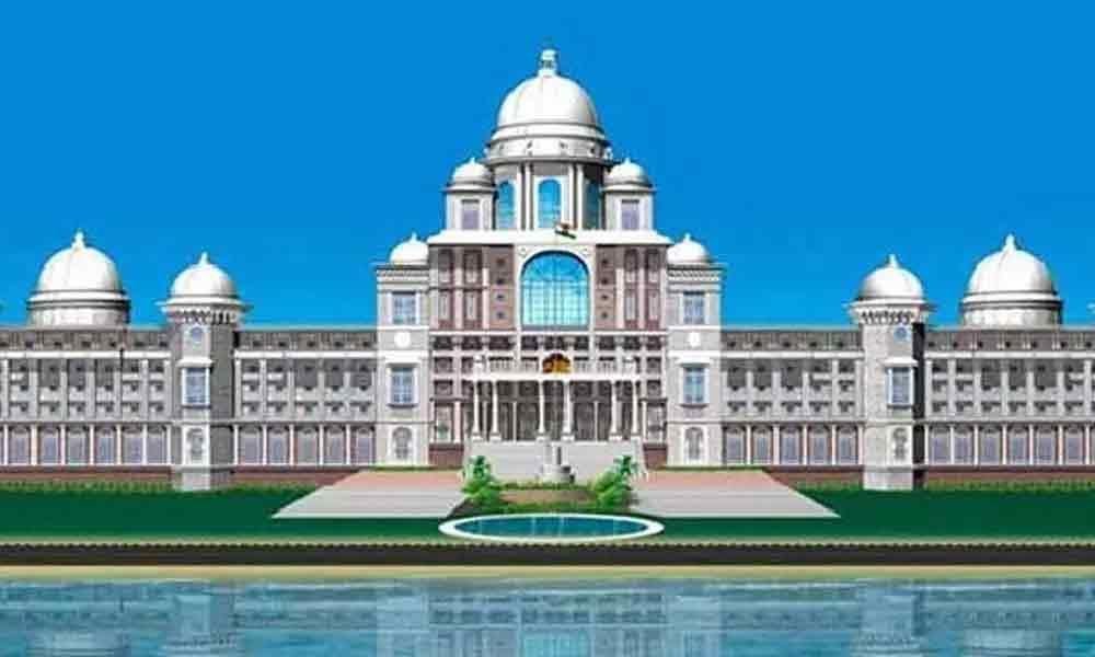 Hyderabad: Secretariat new building design goes viral