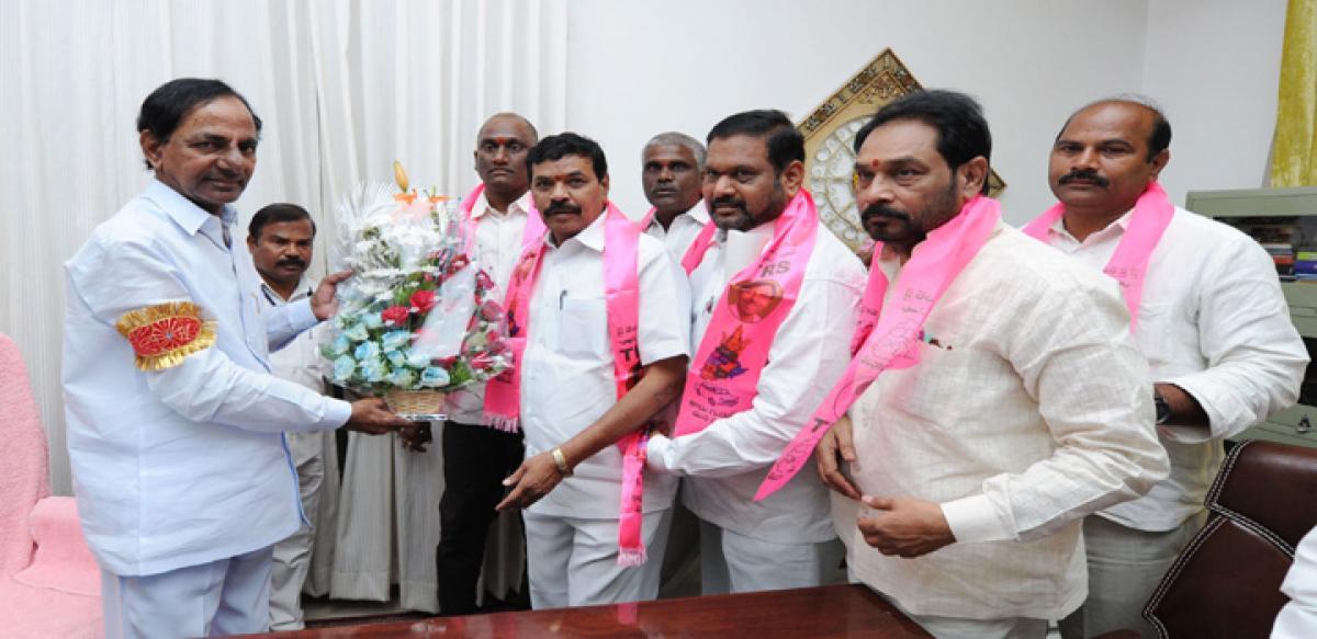 Basavaraj Saraiah joins TRS