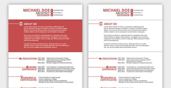 pretty resume template creative resume template amp cover letter