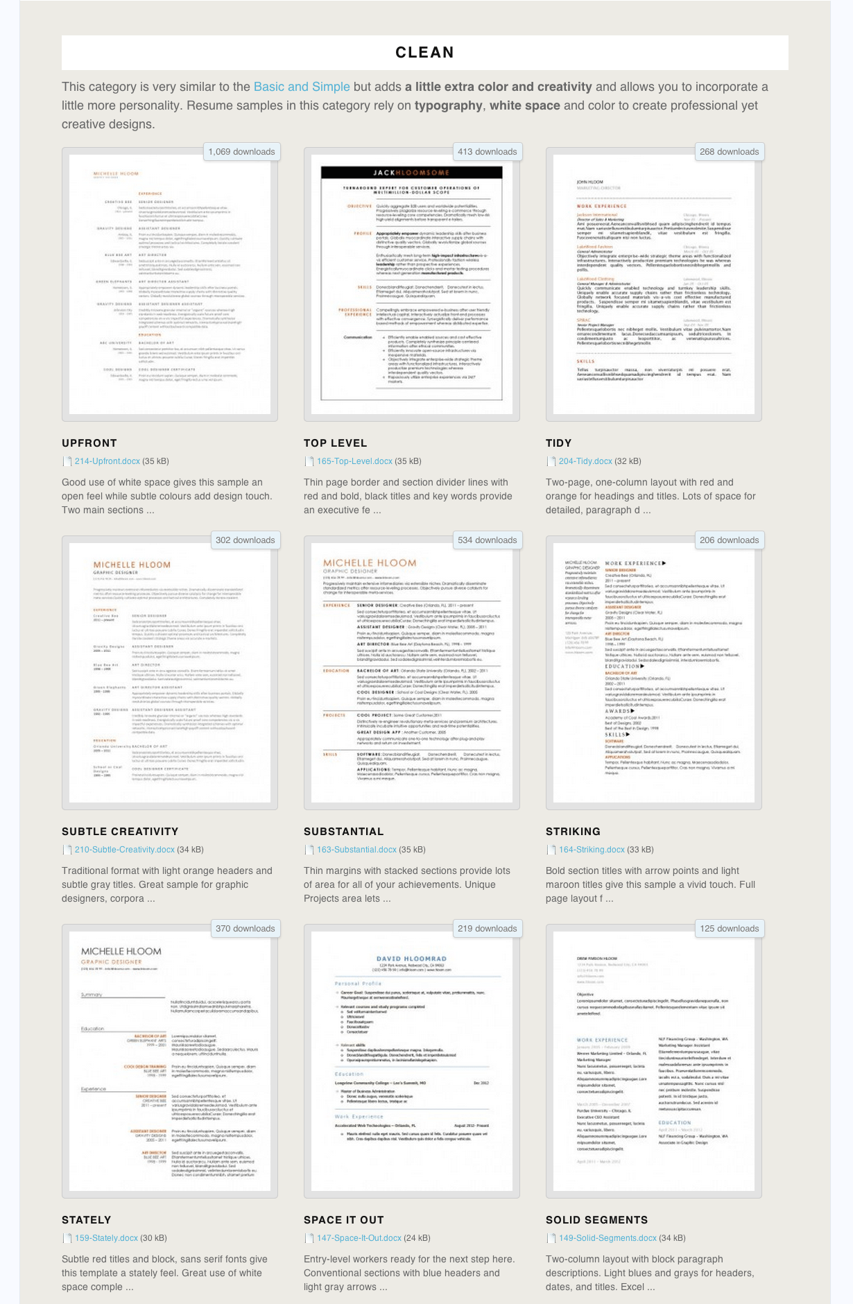 free resume searches for employers