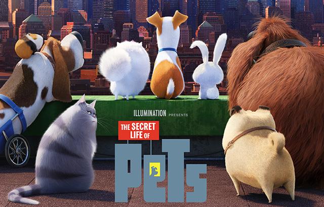 Resultado de imagen de the secret life of pets poster