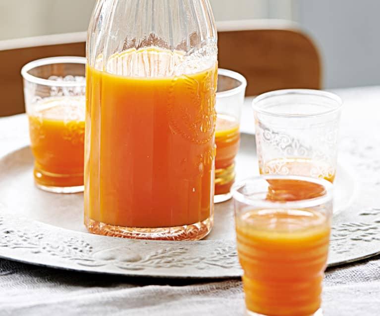 jus de pomme carotte et gingembre