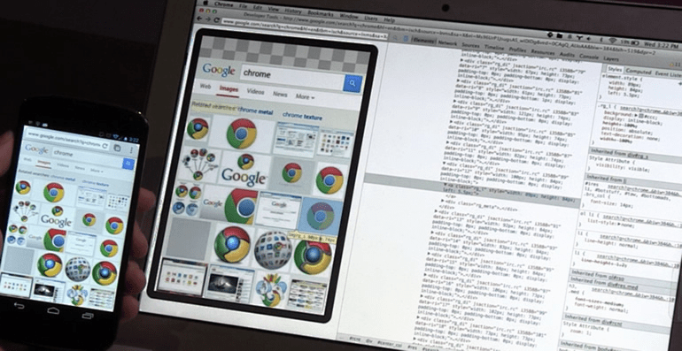 When learning how to develop web applications, look toward Chrome and its DevTools.