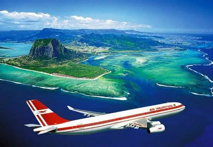 Book your flight ticket to Mauritius Island for your honeymoon