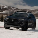 Hooning The 2020 Toyota Rav4 Trd Off Road And Hybrid In The Snow