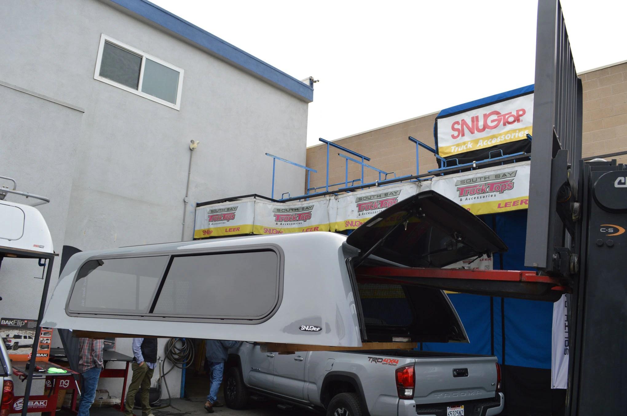 Toyota Tacoma Snugtop Rebel Truck Cap