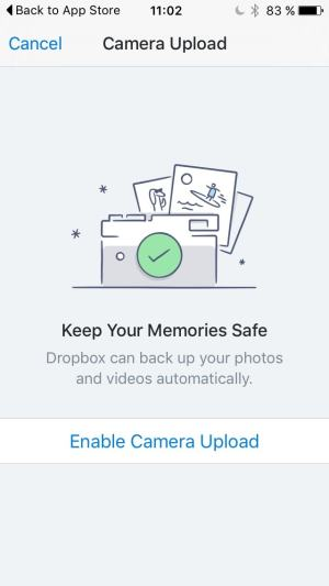 Ask Permission on iOS by Dropbox from UIGarage