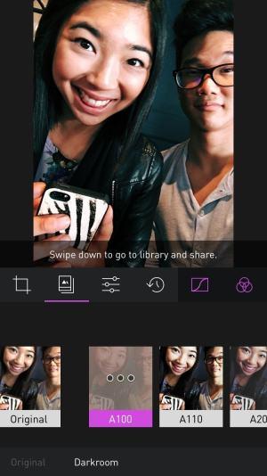 Filters on iOS by Usedarkroom from UIGarage