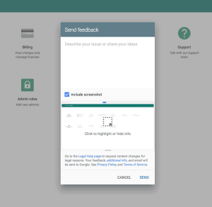 Feedback form by Google from UIGarage