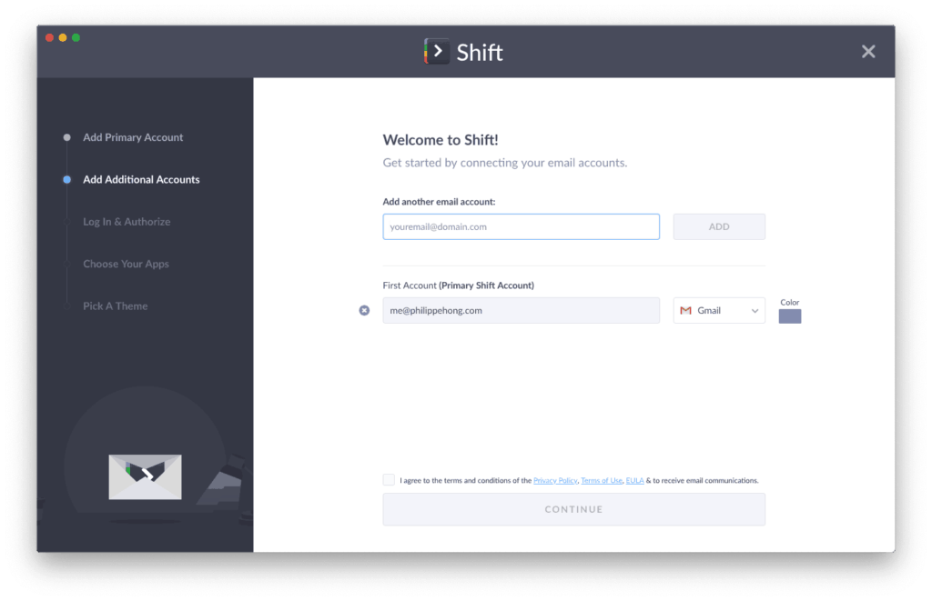 Onboarding Process by Shift App from UIGarage
