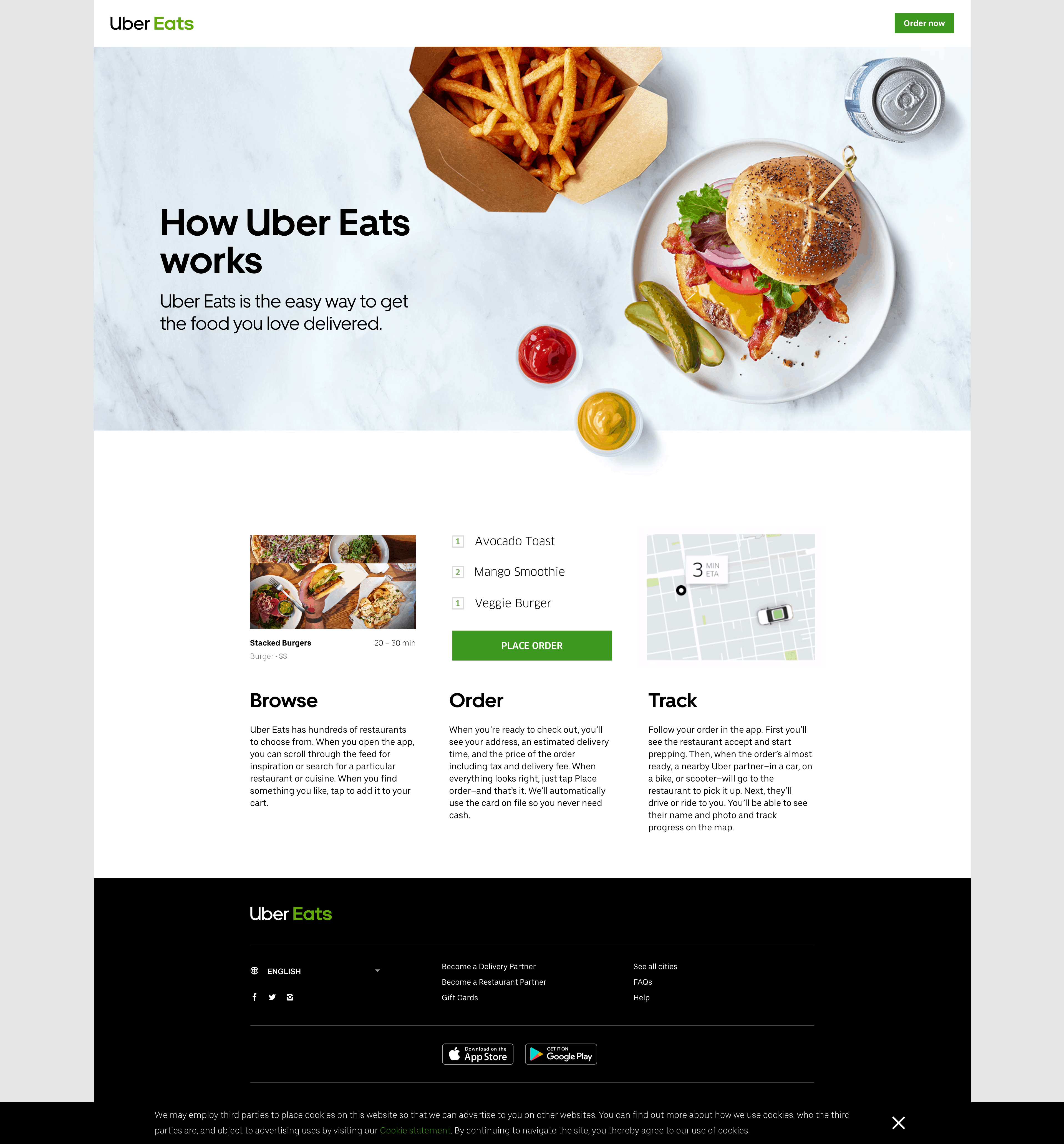 How does it Work by Uber Eats from UIGarage