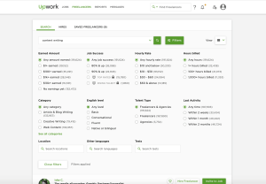 Search by Upwork from UIGarage