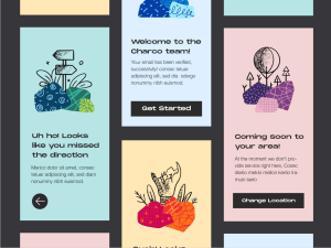 Charco - Free web/app illustrations from UIGarage
