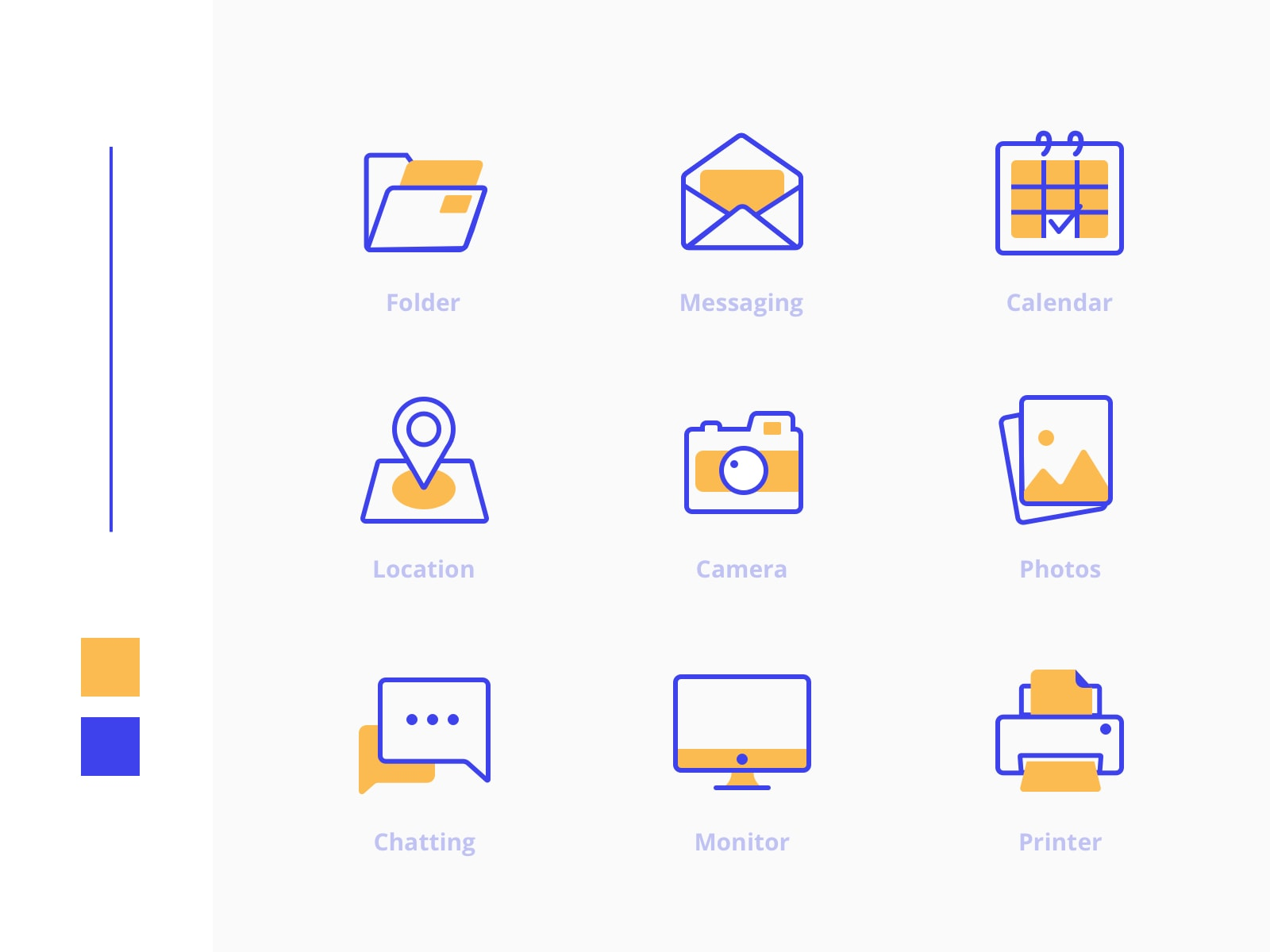 Freebies Office Icons Pack from UIGarage