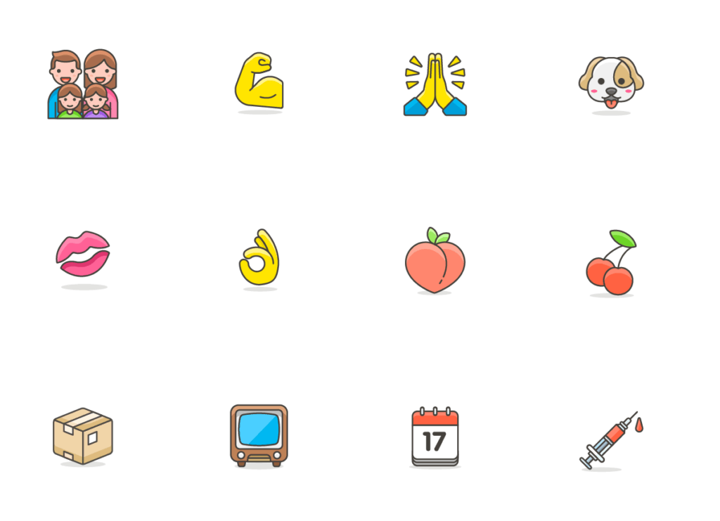 780+ Streamline Emoji from UIGarage