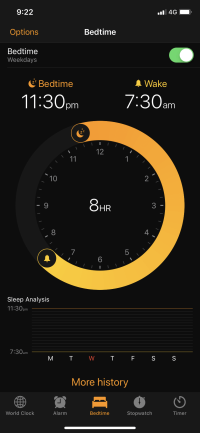 Content Screen on iOS by Apple Alarm from UIGarage
