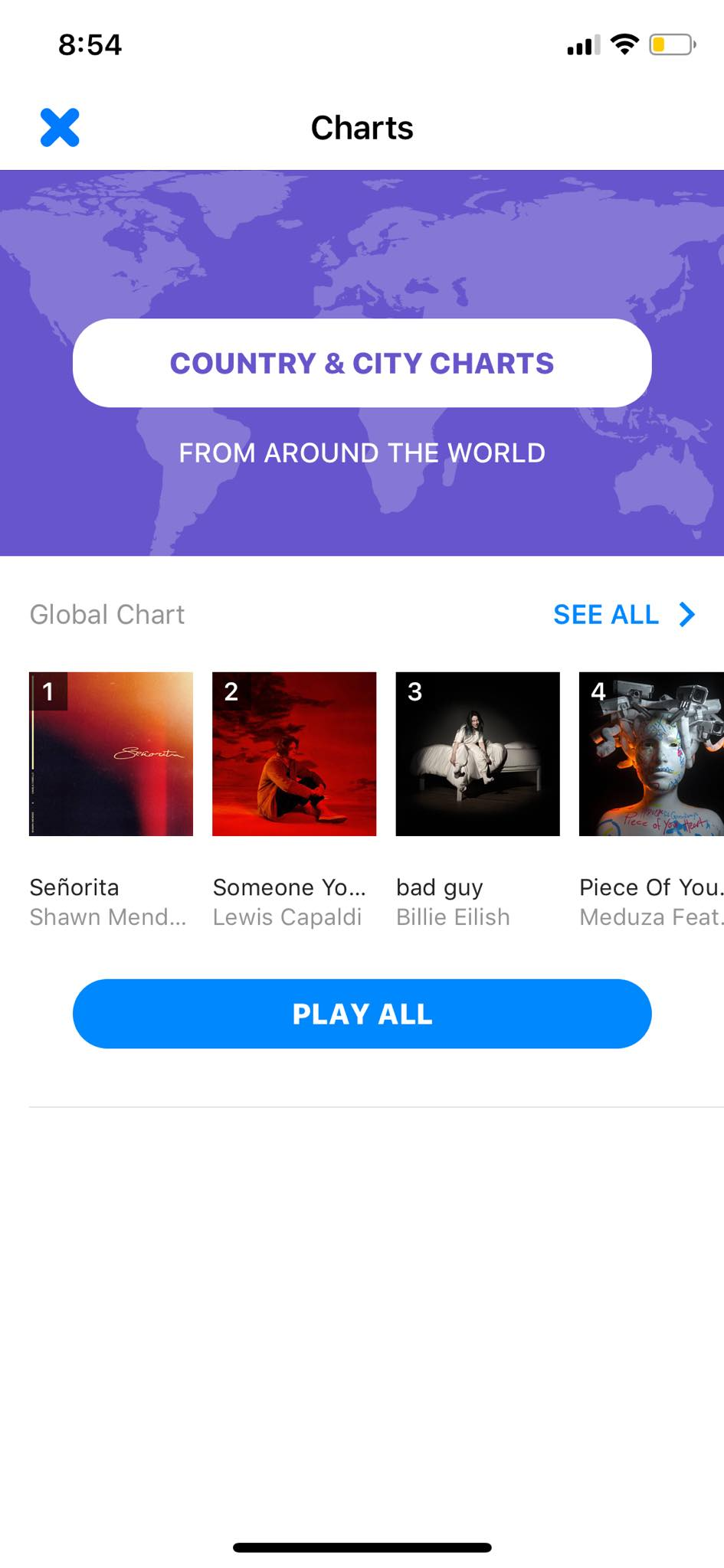 Charts on iOS by Shazam from UIGarage
