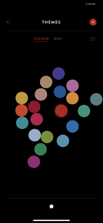 Colour on iOS by Timepage from UIGarage