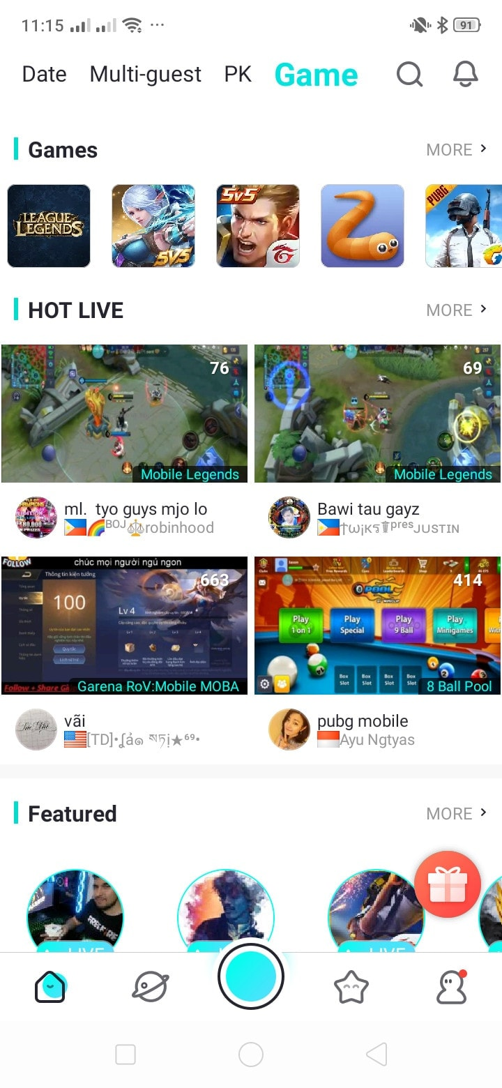 Games on Android by Bigo Live from UIGarage