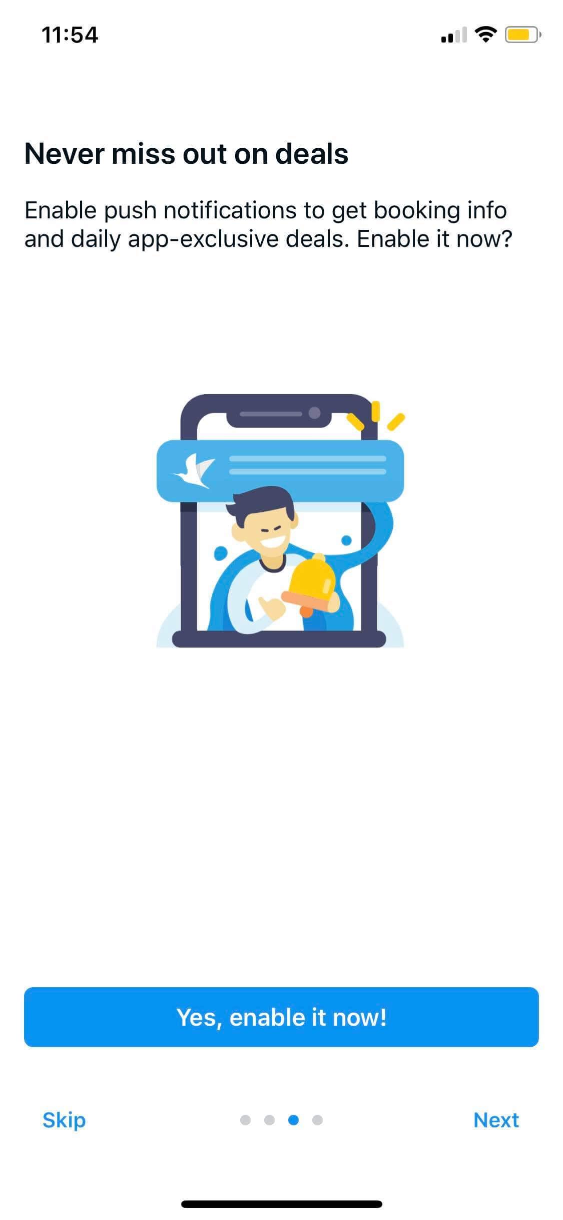 Walkthrough on iOS by Traveloka from UIGarage