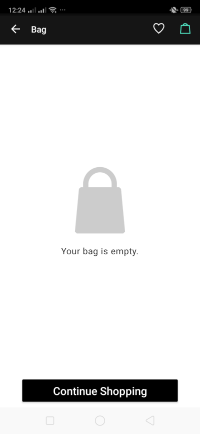 Bag on Android by Zalora from UIGarage