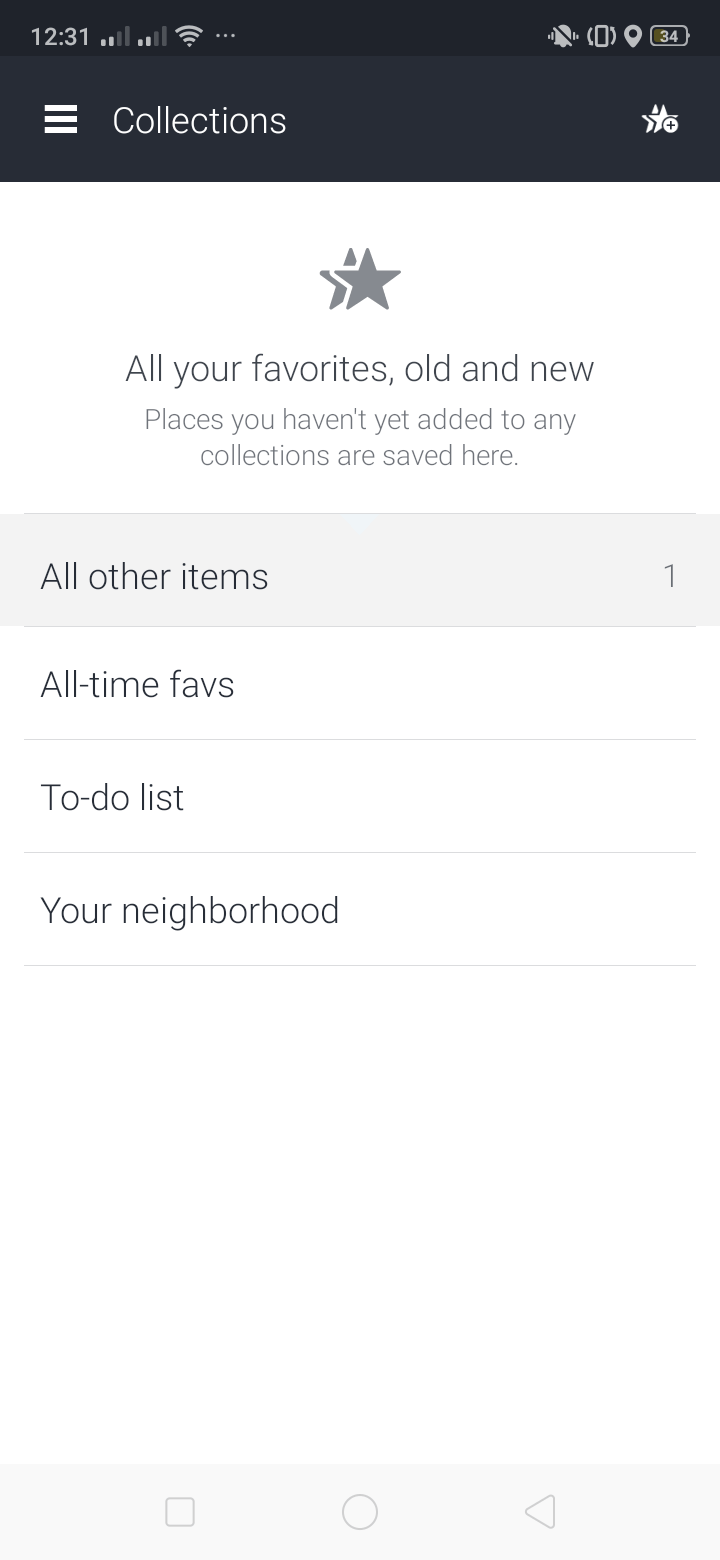 Collections on Android by Here from UIGarage