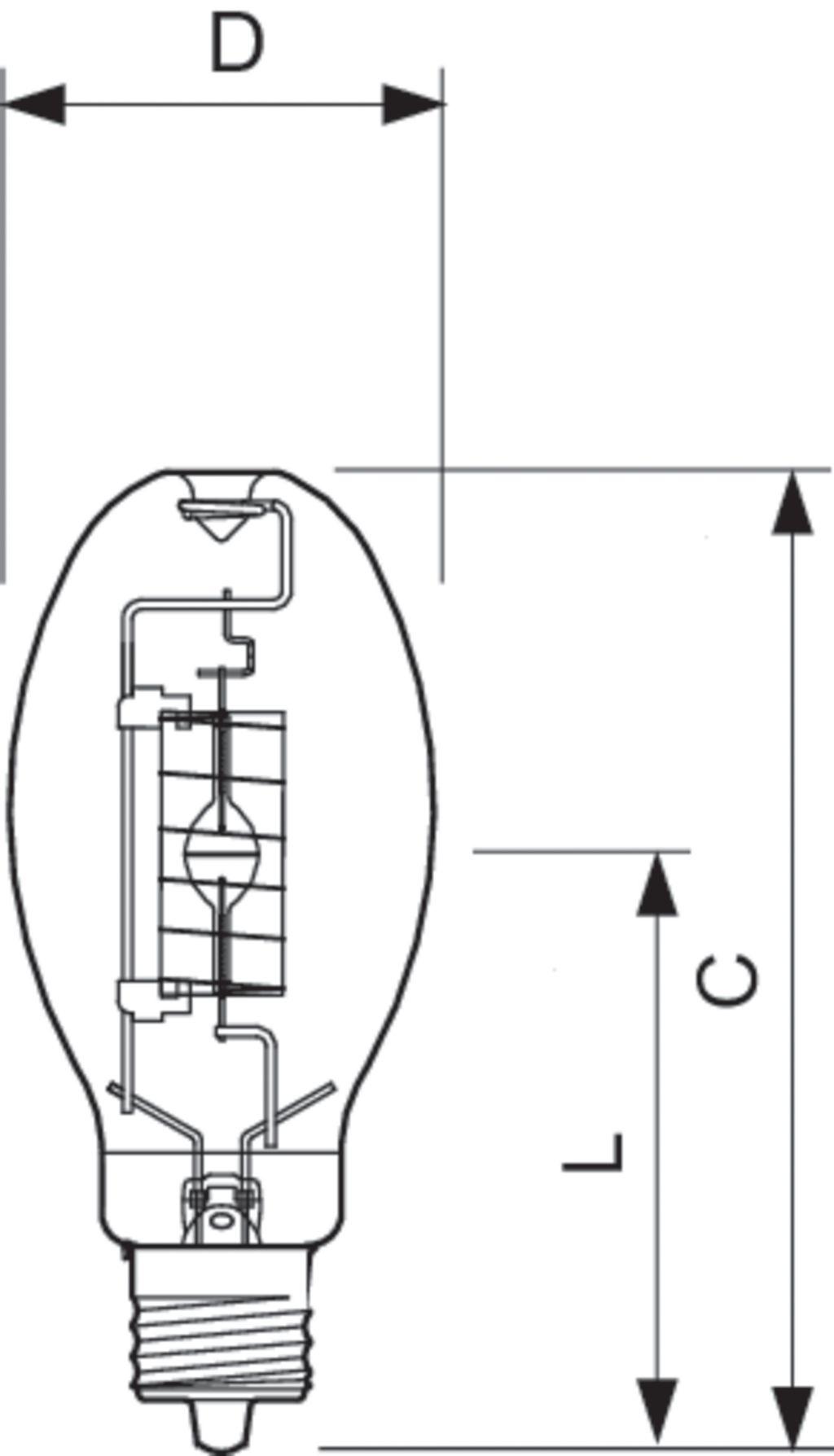 Philips Lighting Energy Advantage Metal Halide Lamp