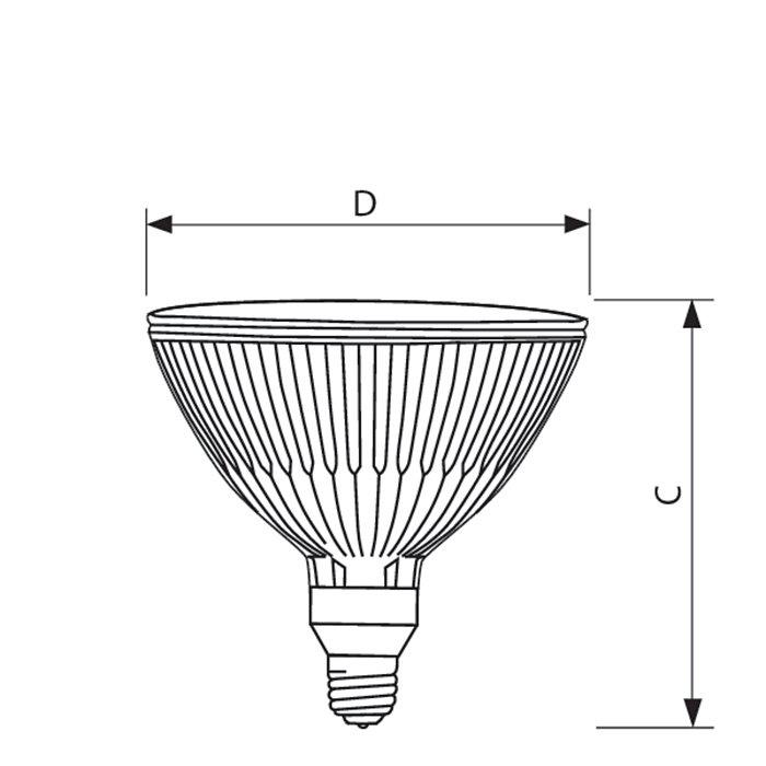 Philips Lighting Dimmable Par38 Short Neck Energy