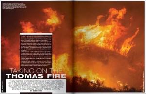 Taking On The Thomas Fire