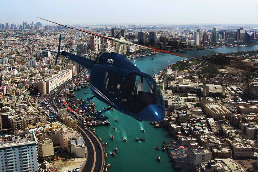 Bell Helicopter is promoting the 505 Jet Ranger X for operators throughout Asia. Bell Helicopter Image