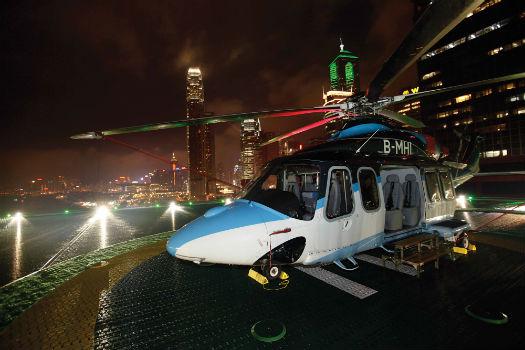 Macau-based Sky Shuttle Helicopters flies a fleet of AgustaWestland AW139s. AgustaWestland Photo